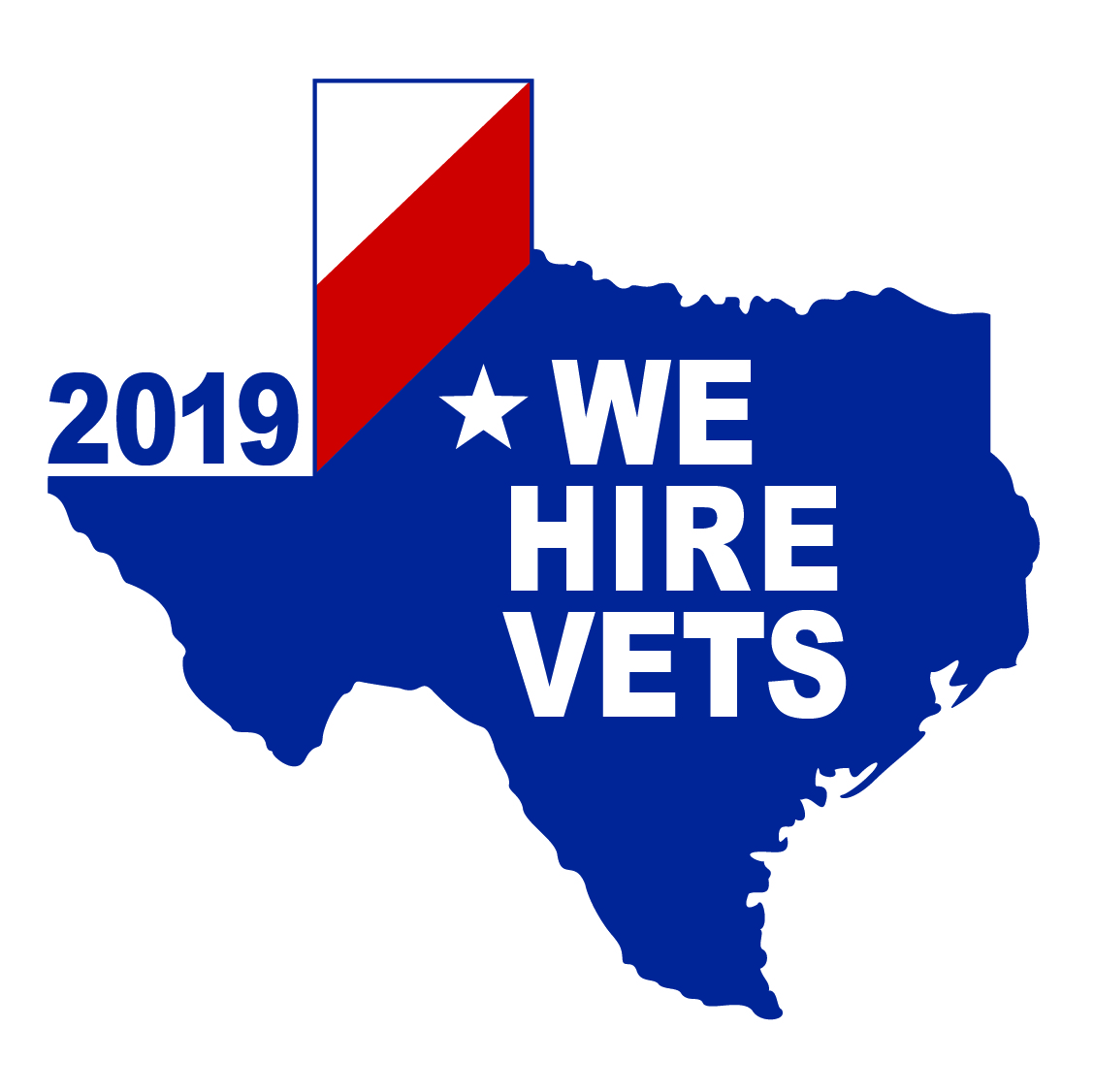 We Hire Vets Decal 2019 01